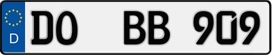 Kfz-Kennzeichen Dortmund
