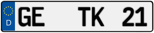 kfz-kennzeichen gelsenkirchen